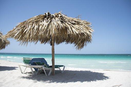 Cuba, Beach, Sea, Caribbean, Silent, Recovery, Holiday