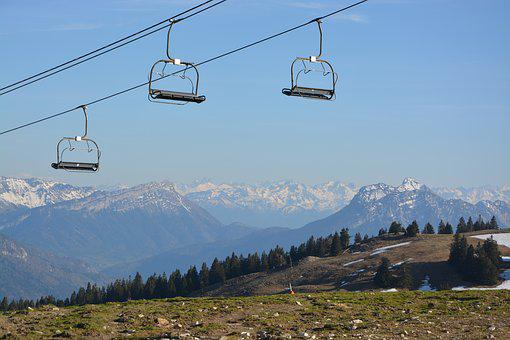 Mountain, Chair Lift, Hautes Alpes, Annecy