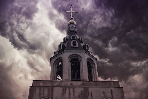 Orthodox Church, Bell Tower, Tower, Cross