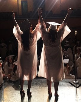 Graduation, Graduation Cap, Education, School, Degree