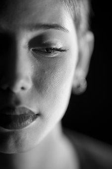Portrait, Women's, Black And White, Exposure, Overview