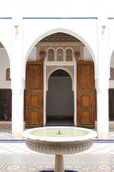 Morocco, Architecture, Gate, Input, Goal, Door, Wood