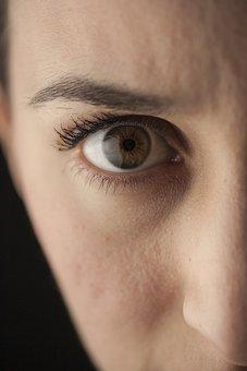Eye, Women's, Overview, Macro, People, Portrait