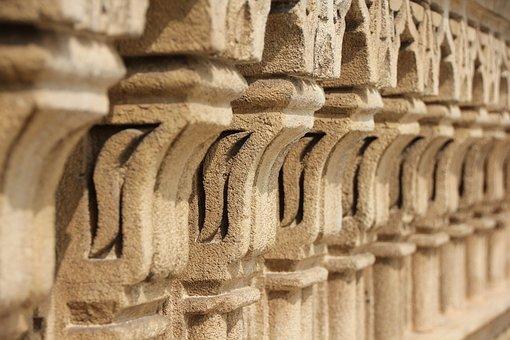 Pillar, Ornament, Morocco, Architecture, Building