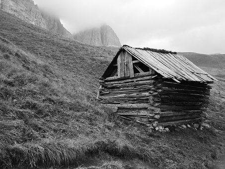Hut, Alm, Alm Hut, Mountain Hut, Summer, Mountain