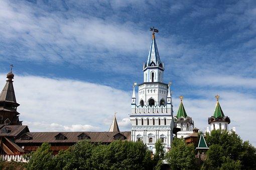 Tower, The Izmailovo Kremlin, Museum, History, Moscow