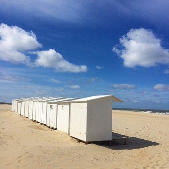 Beach, Summer, Belgium, Holiday, Ostend, Recovery