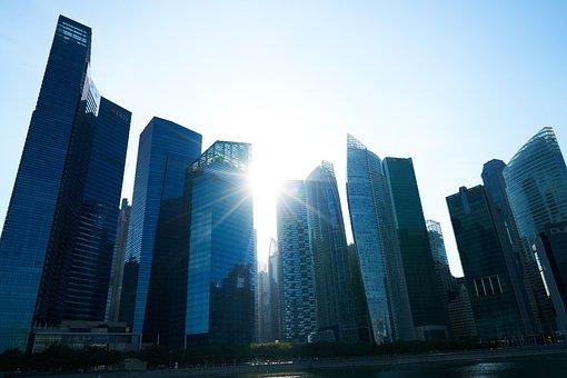 Singapore, Building, Architecture, Asian, Skyscraper