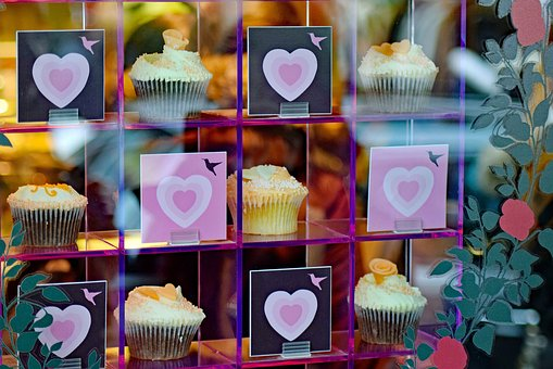 Cupcakes, Window, Cake, Food, Table, Homemade, Pastry