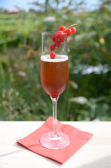 Kir Royal, Cocktail, Benefit From, Alcohol, Summer