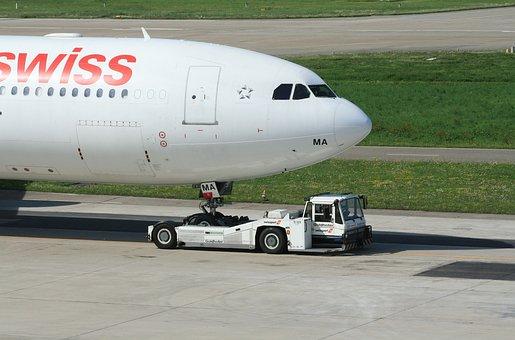 Aircraft, Airport, Transport, Aviation, Departure