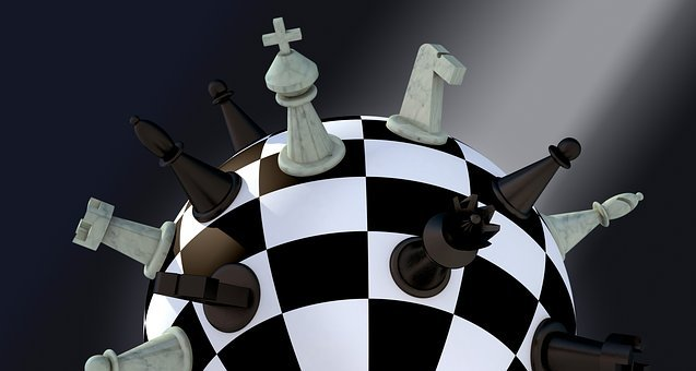 Chess, Figures, Chess Board, Ball, Strategy