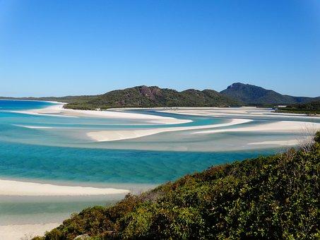 Airlie, White Haven Beach, Beach, White, Down Under