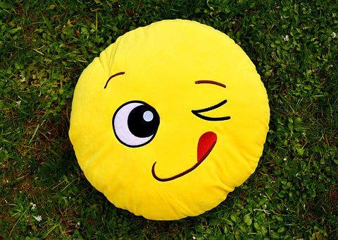 Smiley, Funny, Wink, Cheerful, Colorful, Emoticon