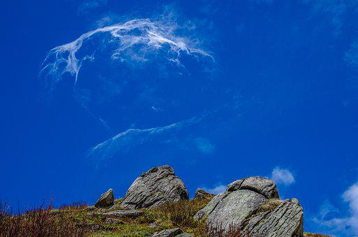 Cloud, Sky, Blue, Highland, Rize, Turkey, Clouds
