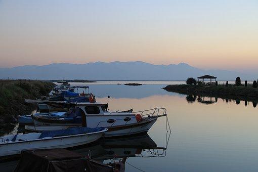 Sunset, Marine, In The Evening, Landscape, Turkey