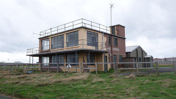 Jurby Control Tower, Isle Of Man, Airfield