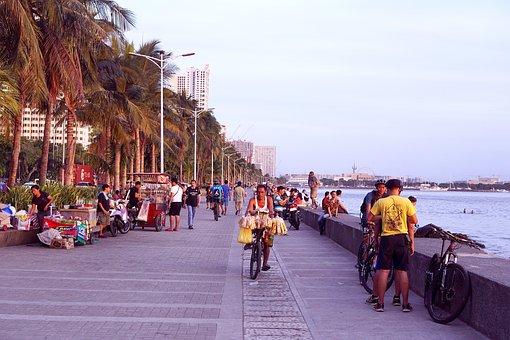 Manila, Manila Bay, Republic Of The Philippines