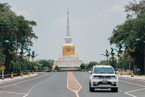 Pagoda, Measure, Tourism, Thailand, Architecture