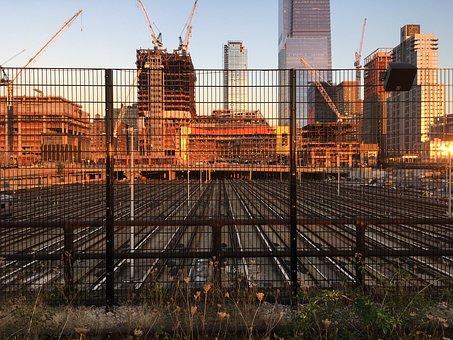 Rail, Tracks, Railway, Transit, Railroad, Steel