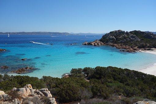 Beach, Sea, Sardinia, Turquoise