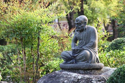 Stone, Statue, Buddhism, Rome Hàn, Monks, Art