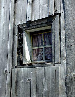 Alps, Switzerland, Drevenica, Cottage, Window