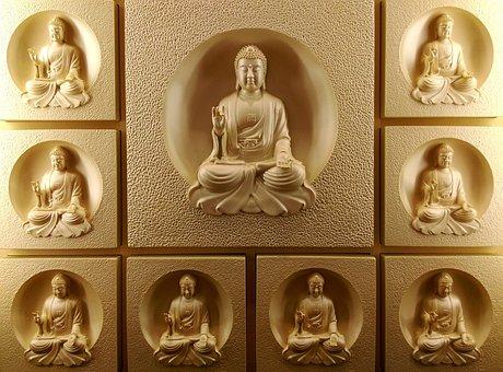 The Buddha, Buddha Statues, 釋 Jiamouni