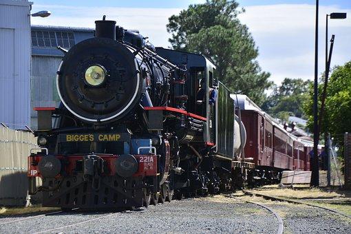 Brisbane, Queensland, Train, Railway, Rail, Transport