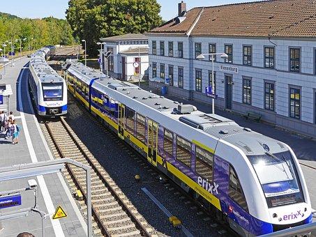 Vienenburg, Resin, The Oldest Train Station, Modernized