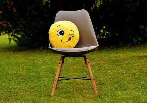 Smiley, Wink, Funny, Cheerful, Colorful, Emoticon