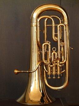 Euphonium, Bugle, Brass Instrument, Instrument