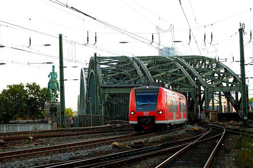 Railway Bridge, Cologne, Hohenzollern Bridge, Bridge