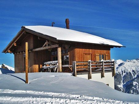 Austrian Ski Chalet, Montafon Ski Area, Log Cabin