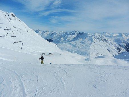 Vorarlberg, Skiing, Outlook, Lonely, Hochjoch, Schruns