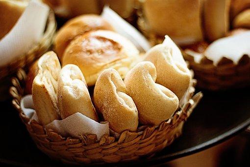Baked, Bread, Rolls, Fresh, Healthy, Yeast, Homemade