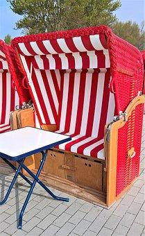 Beach Chair, Baltic Sea, Promenade, Sea View, Break