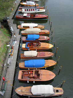 Wooden Boats, Boat, Boats, Water