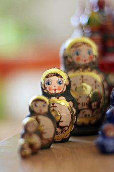 Matryoshka, Dolls, Russian, Nesting, Matrioshka