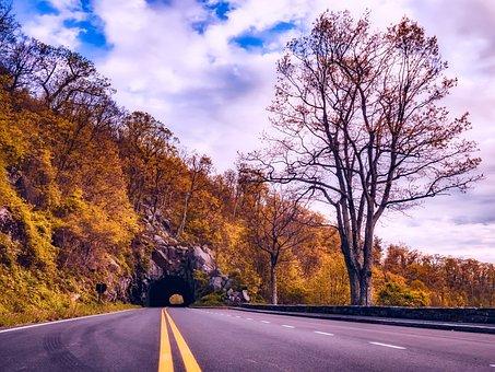 Shenandoah Valley, Virginia, Fall, Autumn, Road, Travel