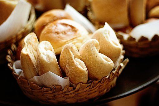 Baked, Bread, Rolls, Fresh, Healthy, Yeast, Homemade