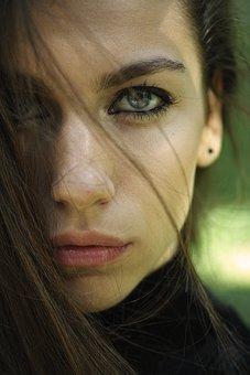 Model, Girl, Exposure, The Young Woman, Women's
