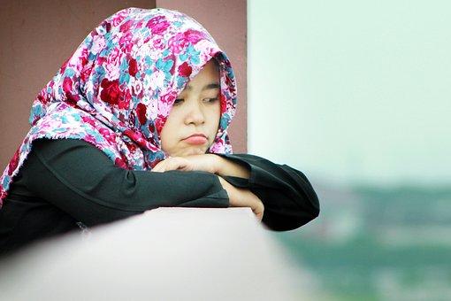 Hijab, Female, Indonesia, Portrait, Girl, Woman, Islam