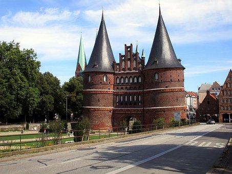 Holsten Gate, Lübeck, Landmark, Historically, City Gate
