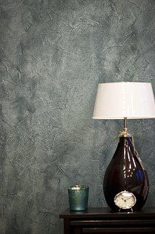 Wall, Furniture, Grey, Lamp, Light, Decor, Home