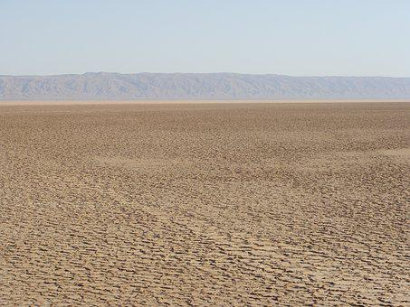 Sand, Horizon, Mountains, Rock, Arid, Sahara, Desert
