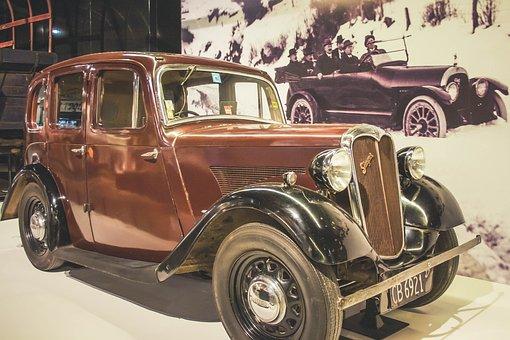 Vintage Car, Old Vehicle, Antique, Automobile, Classic