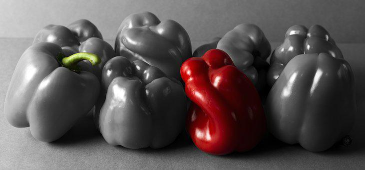 Red Pepper, Paprika, Vegetable, Vegetarian, Organic