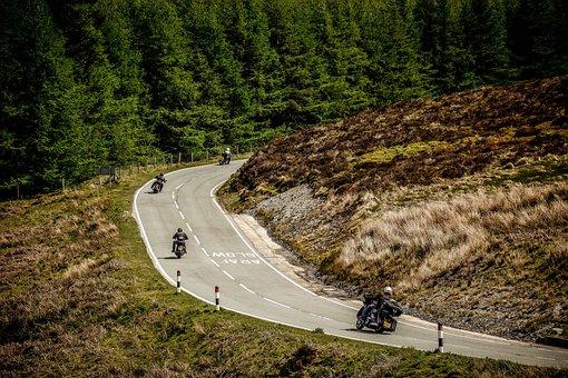 Motorcycle, Road, Bike, Tour, Touring, Ride, Group