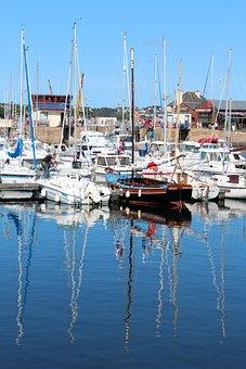 Boot, Port, Sea, Sailing Boat, Sailing Vessel